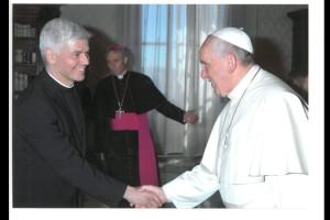 Ben & Pope Francis 1