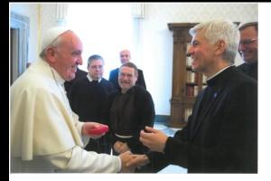 Ben & Pope Francis 2