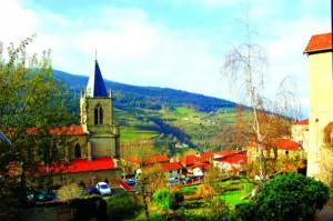St.-Marcellin-Champagnat-arrives-in-La-Villa