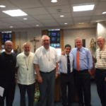Mr. Luis Ramos officially entered his year of Postulancy with the Marist Brothers