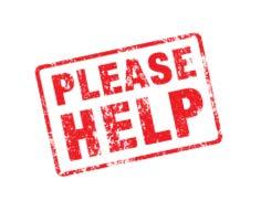 We urgently need your help!